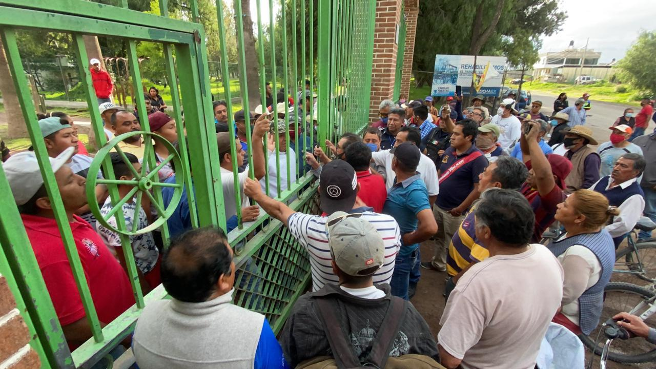 RESGUARDAN HABITANTES DE SAN SALVADOR ATENCO POZO DE AGUA DEL PARQUE DE LOS AHUEHUETES