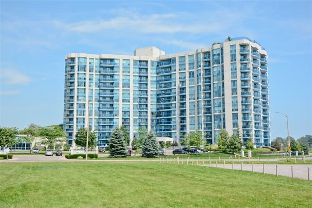 Wow-Water View Of Whitby Harbour/Marina! Luxurious 1,018 Sq/Ft Which Includes 53 Sq/Ft Of Open Balcony With View Of Water. This Impeccable 2 Bedroom Is Complimented With 2 Full Baths - With His&Hers Sinks. Beautiful & Spacious Living-Dining Area With Walkout To Balcony. Ensuite Laundry W/Shelving. Spacious Foyer With Large Closet. Gourmet Kitchen With Breakfast Area. This Spacious Unit Is Freshly Painted. Steps To Go Train, Shopping, Park & Whitby Yacht Club!