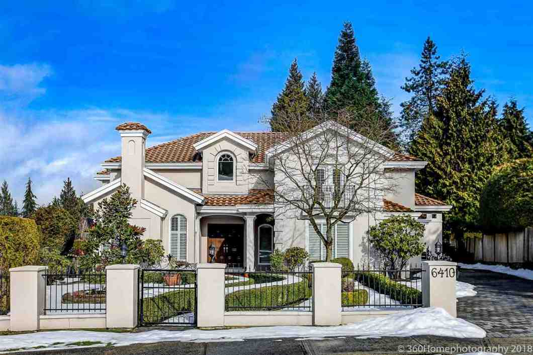 ARE - YOUR UNIQUE & EXCLUSIVE DREAM HOME HAS ARRIVED! Tuscan Villa on 1/3 of an acre in Burnaby's most desired Buckingham Heights Neighborhood! Be the envy of friends & family, 6,072 sqft of luxury living, for those wanting refined living. Impressive double height atrium, open floorplan, vaulted ceiling, master chef's kitchen (w/ secondary kitchen), grand formal living & dining room, large bedrooms, wine cellar, open basement family room, Juliet balconies, 3 car garages, paving stone driveway & large patios - this home is perfect for day to day living & entertaining.Impressive 14,544 sqft property, Renaissance Italian inspired garden, flat property, fully fenced, gated property, private paradise backyard. Don't miss this once in a lifetime opportunity to own.