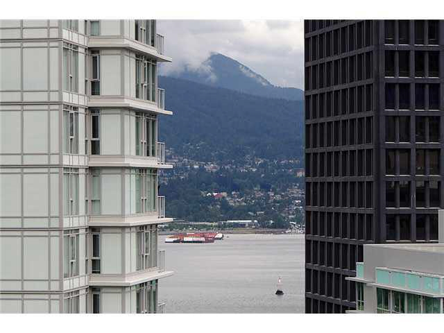 "Prestigious neighbourhood, Vancouver City Centre location - ""Coal Harbour""! High 22nd floor, N facing with some waterview of Burrard Inlet. Open balcony over 30 sqft-bonus! Rectangular sized nook over 68 sqft could serve as a multipurpose room. Only 1 block walk to City's Commercial/Financial Office District. Don't miss this close 800 sqft 2 bedroom & 2 bathroom unit at this price."