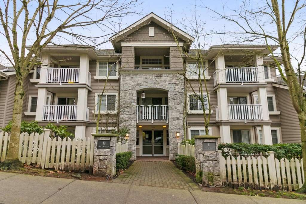 Everything you've been looking for! Top floor, spacious 1 bedroom plus den features a tasteful mix of engineered hardwood, carpet and tile flooring.  Open style kitchen with stainless steel appliances. Large living room & formal dining room area.  Fireplace. Big master bedroom with full ensuite bathroom. In-suite laundry. Private sundeck overlooks peaceful garden courtyard on quiet side of the building. 2 secure parking stalls. Secure storage. Bike room. Super convenient location. Just a short walk to Skytrain. Highgate shopping Village, Edmonds community centre and Burnaby public library. Good building. See you at the open house Sunday Feb 11/18 1:30-4:30 pm and Monday, Feb 12/18 1:30-4:30 pm.