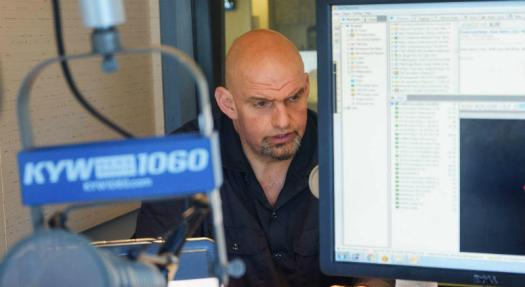Fetterman opens up about Governor Wolf, gun control | KYW