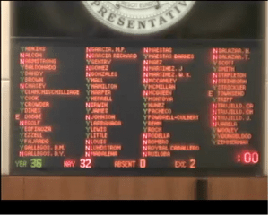 Final vote on removing HB 41 from committee on 02/04/15.