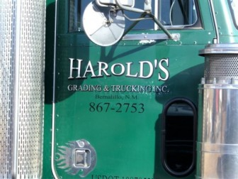 Courtesy Harold's Grading and Trucking