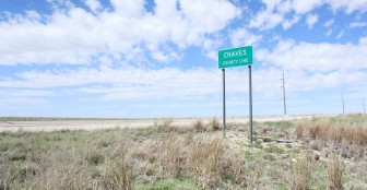 Chaves County, New Mexico, is the proposed site of the Triassic Park hazardous-waste facility. Though the facility exists only on paper, a complaint filed with the Environmental Protection Agency's Office of Civil Rights alleged that the state permitting process discriminated against Spanish-speaking residents. Photo: Talia Buford/Center for Public Integrity