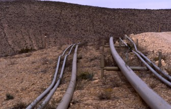 Natural Gas pipeline going through New Mexico. Photo Credit: Wikicommons
