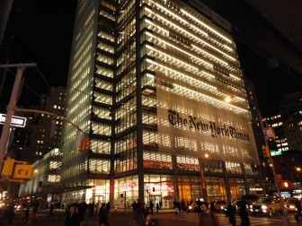 New York Times tower. Wiki Commons