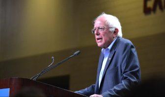 Bernie Sanders at a Rally in Phoenix, Arizona Photo Credit: Andy Lyman