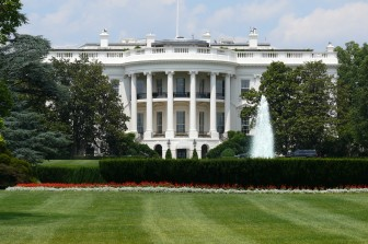 The White House South facade. Wikicommons