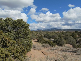 Natural landscape of Old Fort Marcy Park — in Santa Fe, New Mexico. Photo Credit: Josh Phelan via Wikicommons