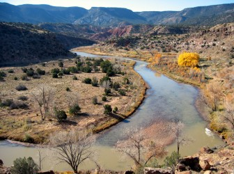 Rio Chama, Old Spanish Trail. Photo Credit: BLM New Mexico