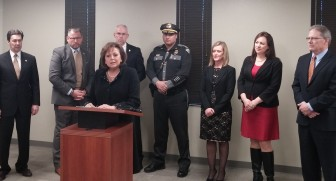Gov. Martinez announces her proposed 2016 budget.