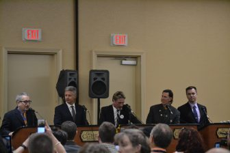 Libertarian Party candidates debate at the 2016 Libertarian National Convention in Orlando, FL.