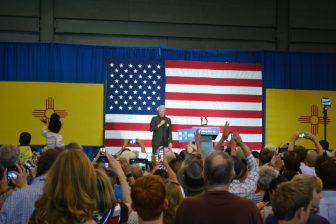 Bill Clinton in Albuquerque.