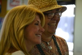 Wendy Davis and Glojean Todacheene