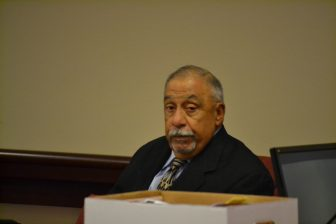 Former State Sen. Phil Griego in District Court in July, 2016.