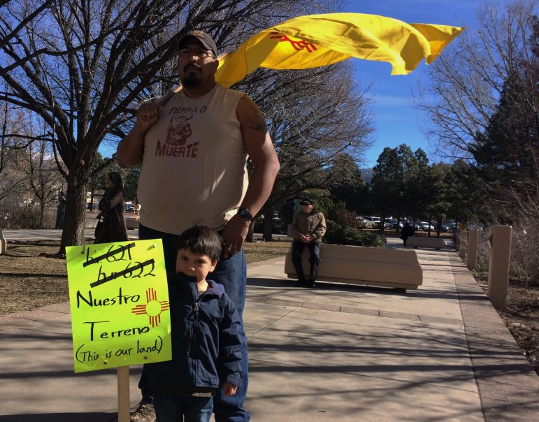 Public lands supporters came with their families