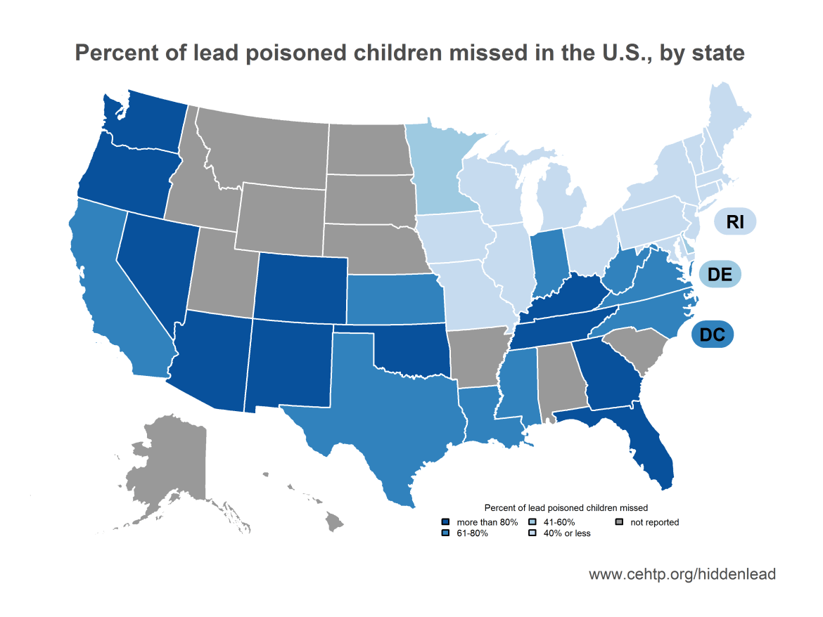 Off Charts Thousands Of Us Locales >> Testing Is Identifying Just 5 Of Kids Poisoned By Lead In Nm The