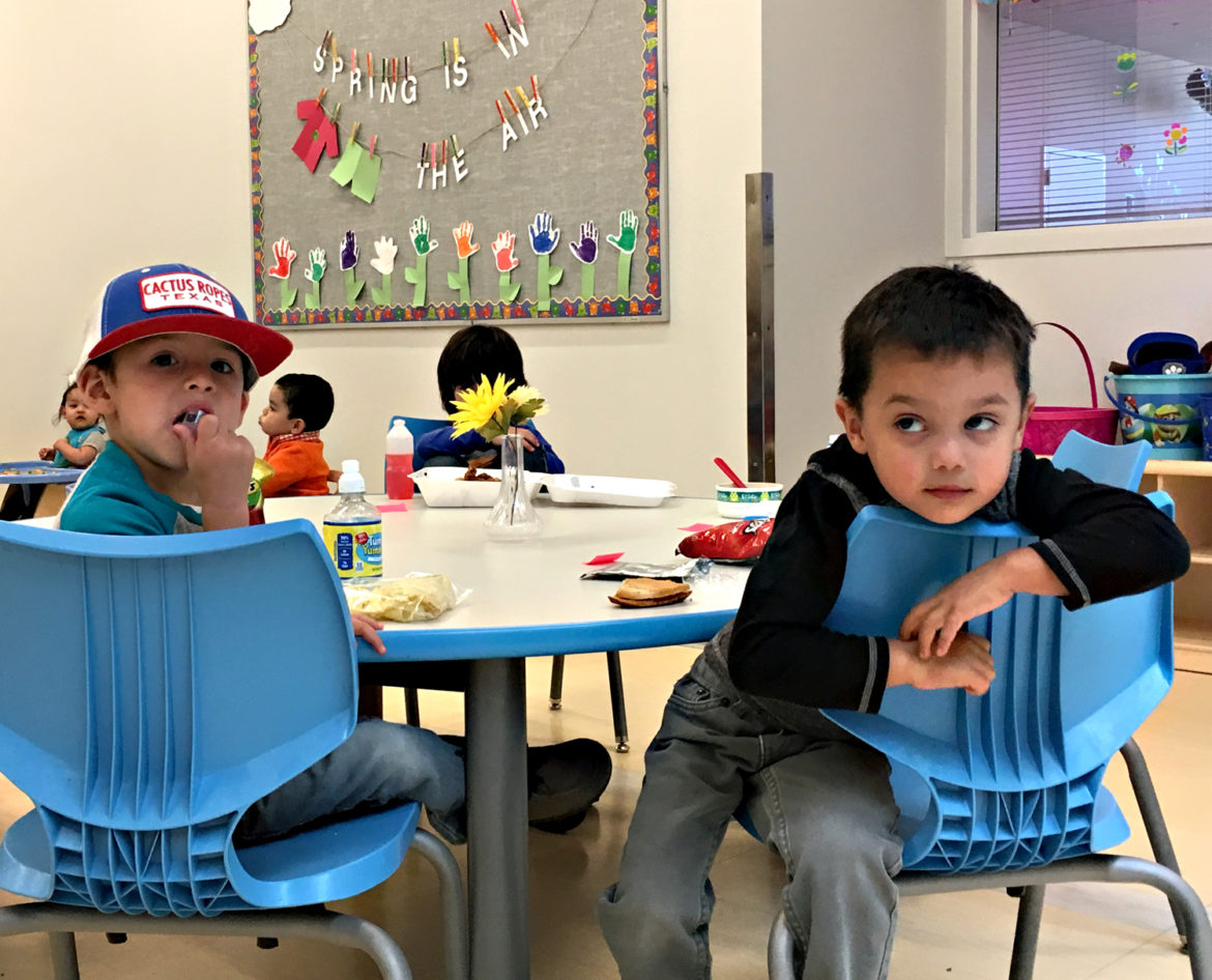 Creative thinking brings child care center to Jal