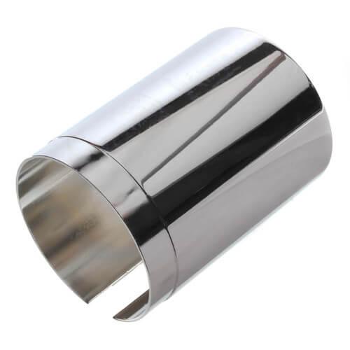 3 chrome plated tub diverter spout extension