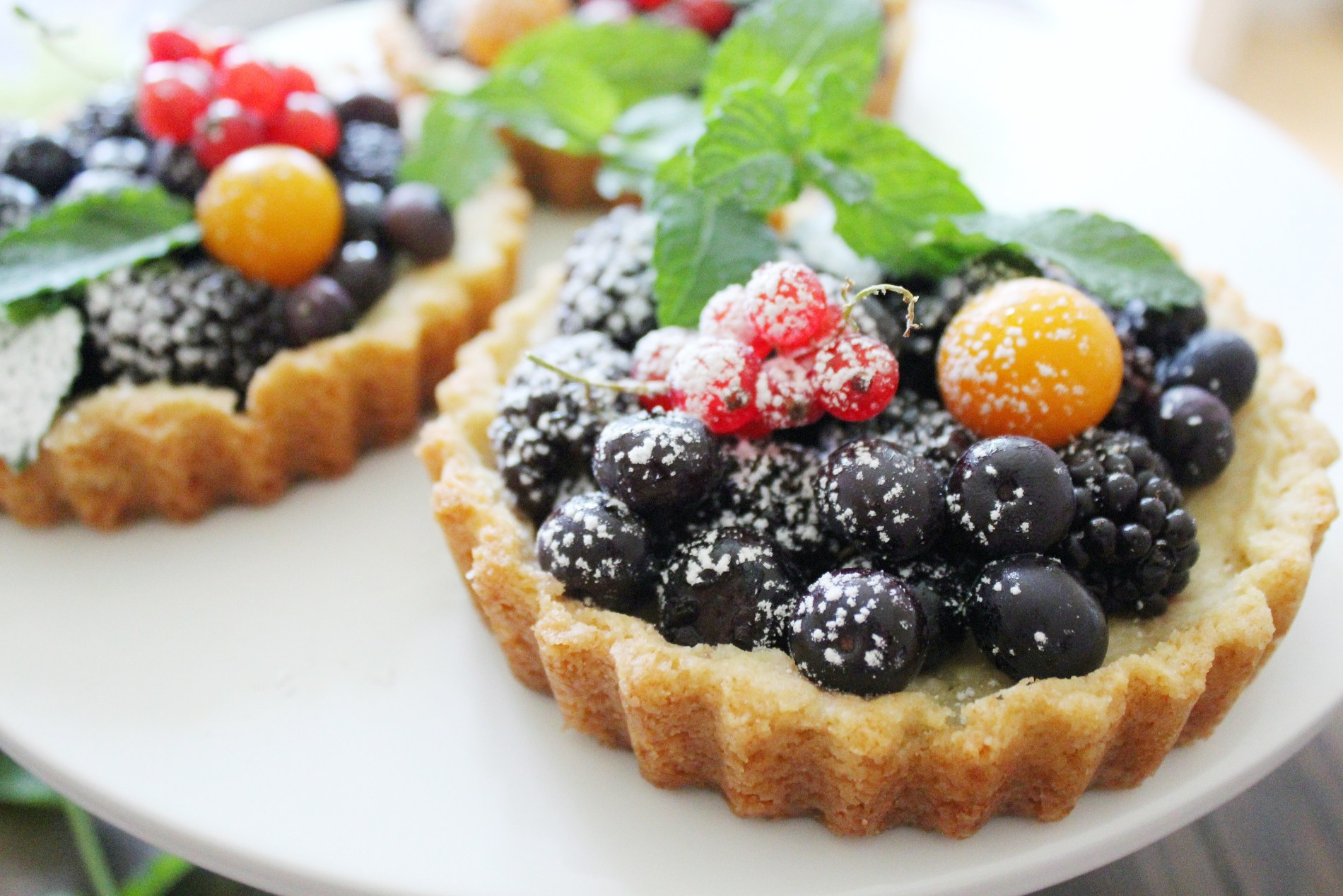 Wildberry Tarts