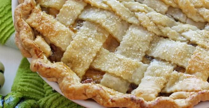 Classic Apple Pie with Maple Infused Yogurt & Pecans
