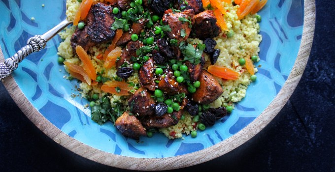 Chicken Tagine with Dried Fruit
