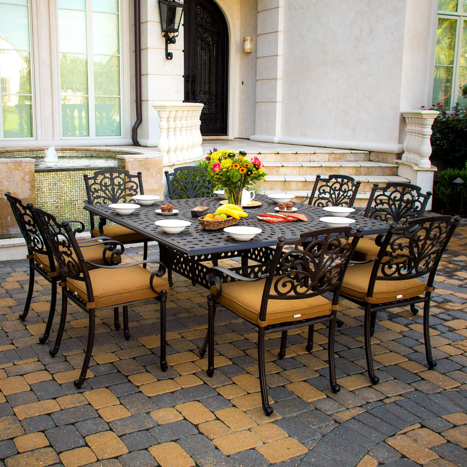 Aluminum Patio Sets Clearance