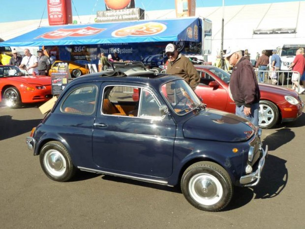 1968 Fiat 500L 2-Dr. Sedan
