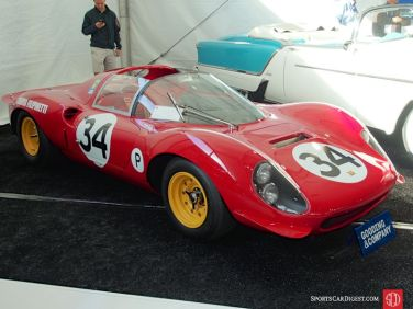 1966 Ferrari 206 S Dino Competition Spider, Body by Drogo