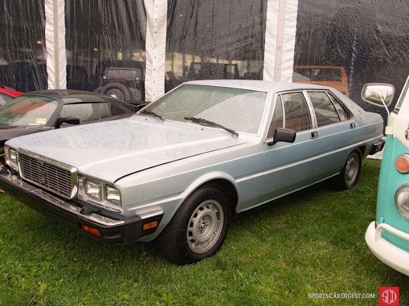 1982 Maserati Quattroporte 4-Dr. Sedan