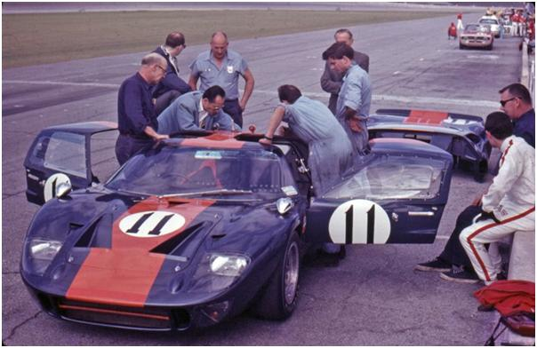 John Wyer Automotive Ford GT40 Mk I - Dick Thompson and Jacky Ickx