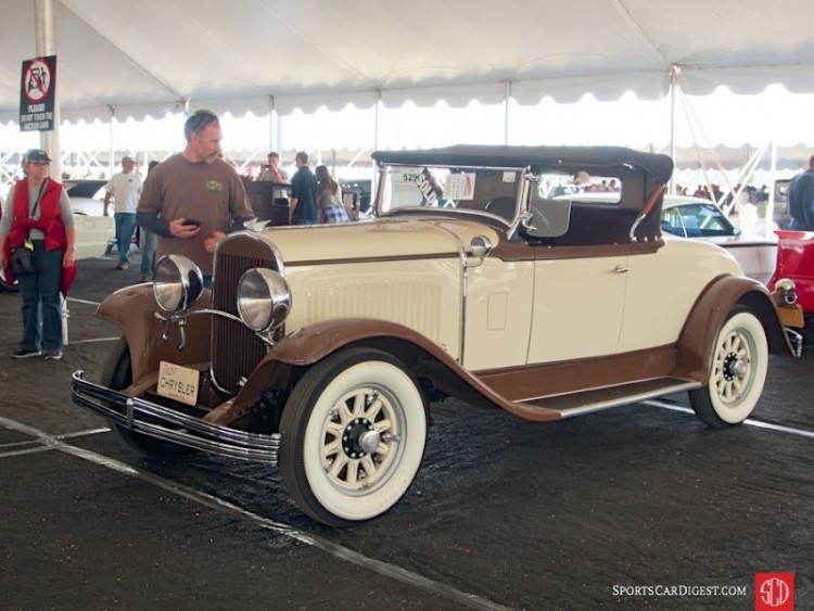 1929 Chrysler 75 Roadster