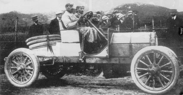 1906 Targa Florio, Italia race car