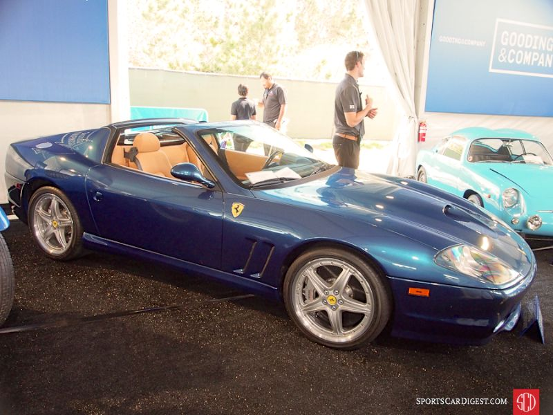 2005 Ferrari 575M Superamerica Convertible, Body by Pininfarina