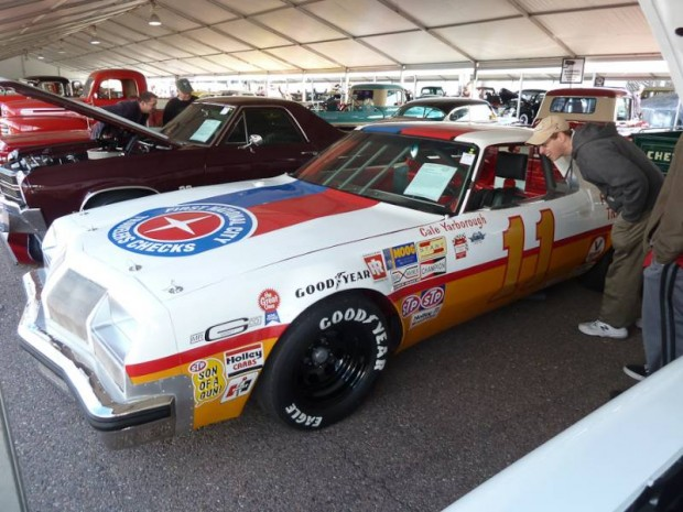 1977 Oldsmobile Cutlass Cale Yarborough Race Car