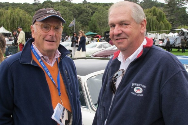 Peter McCoy (left), and Wayne Obry of Motion Products.  Photo William Edgar