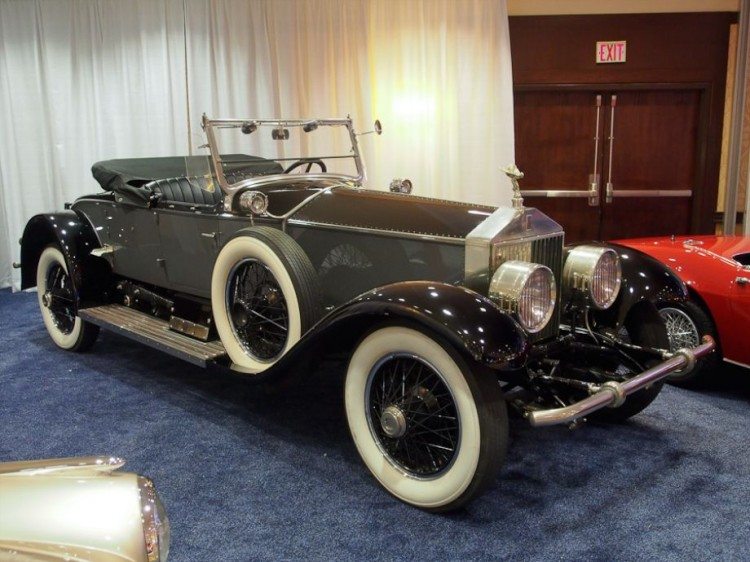 1926 Rolls-Royce Silver Ghost 40/50hp Piccadilly Roadster, Body by Brewster