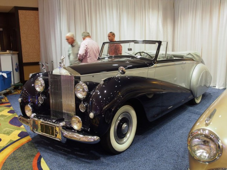 1952 Rolls-Royce Silver Dawn Drophead Coupe, Body by Park Ward