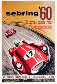 The Automobile Race Club of Florida (ARCF) was created in 1955 to sanction Sebring events after the American Automobile Association (AAA) stopped sanctioning motorsports following the tragedy at Le Mans that year that saw the death of 83 spectators. SIR photo.