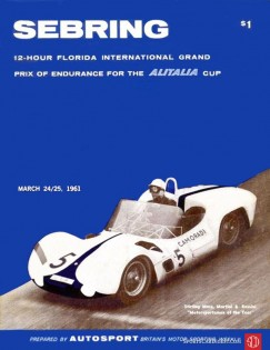 Souvenir race program for the 1961 Sebring 12-Hour Grand Prix of Endurance. (Photo: RSC photo)
