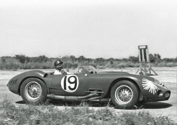 Juan Manuel Fangio Maserati 450S photo