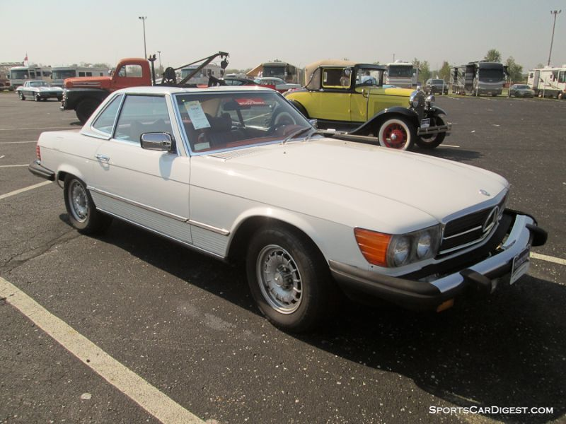1978 Mercedes-Benz 450SL Roadster