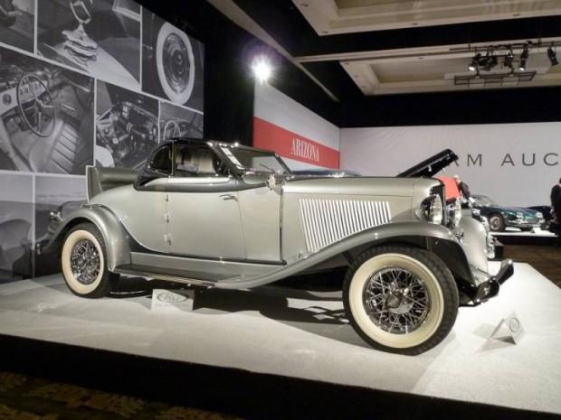1933 Auburn 8-105 Retractable Hardtop Cabriolet