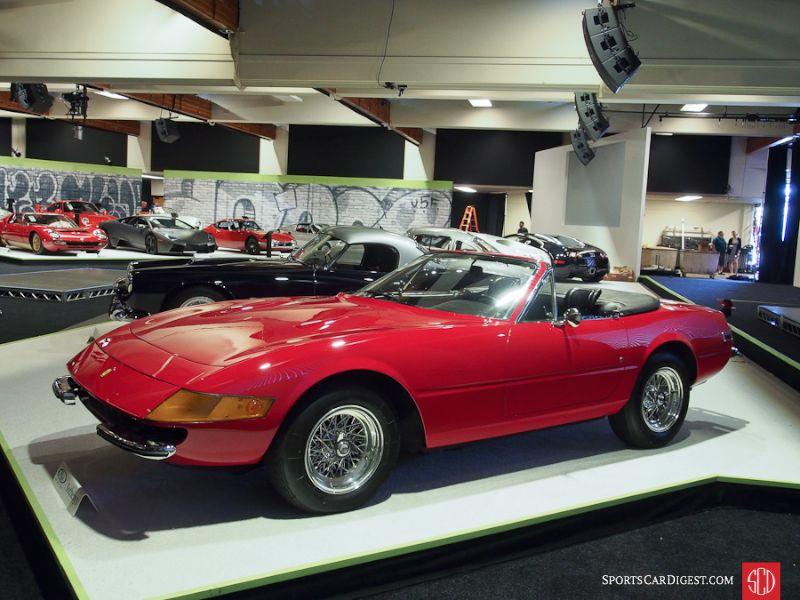 1972 Ferrari 365 GTB/4 Daytona Spider, Body by Scaglietti
