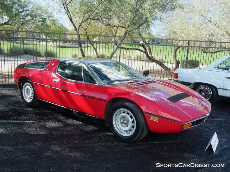 1978 Maserati Bora 4.9 Coupe, Body by Giugiaro