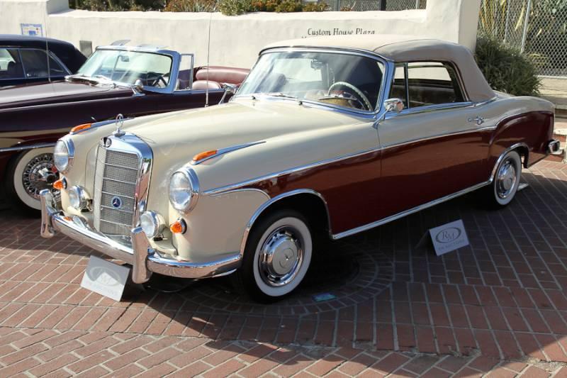 Rm auctions monterey 2014 auction report for 1957 mercedes benz 220s
