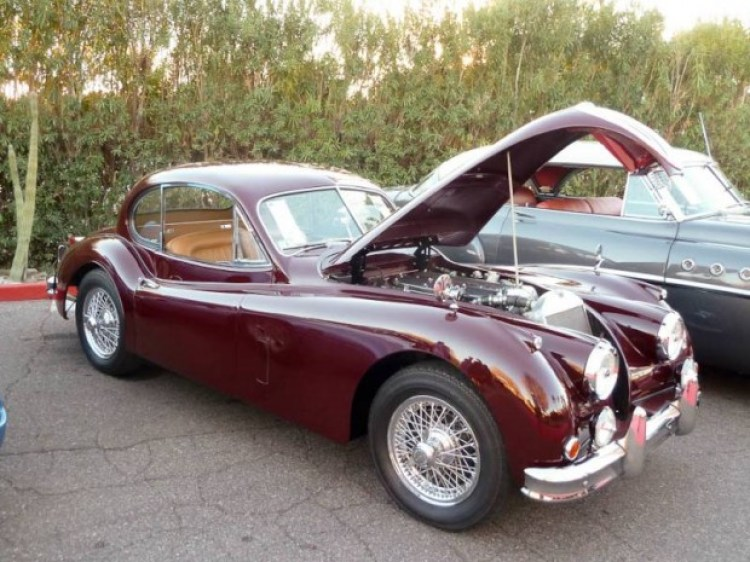 1955 Jaguar XK 140MC Fixed Head Coupe