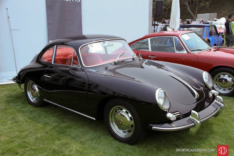 1964 Porsche 356C 1600 Coupe, Body by Karmann
