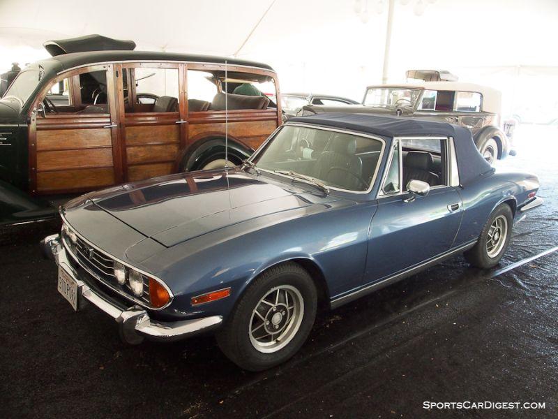 1972 Triumph Stag Convertible